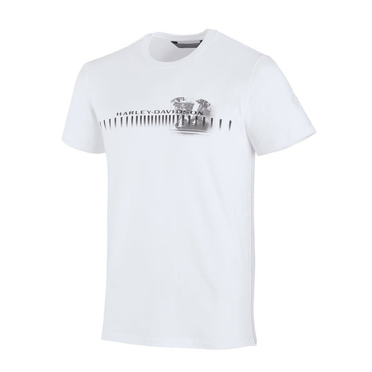Harley-Davidson® Mens Horizontal Engine Print Slim Fit Tee - 99206-19Vm T-Shirts
