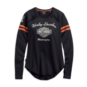 Harley-Davidson® Womens Performance Top With Coolcore® Technology - 99225-19Vw Lond Sleeve Tees