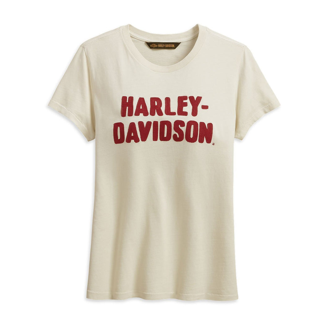 Harley-Davidson® Womens Chain Stitched Tee - 99232-19Vw T-Shirts