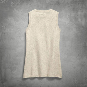Harley-Davidson® Womens Distressed Logo Tank - 99255-19Vw Tops