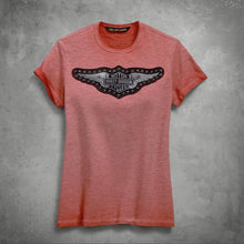 Harley-Davidson® Womens Studded Wing Tee - 99275-19Vw T-Shirts