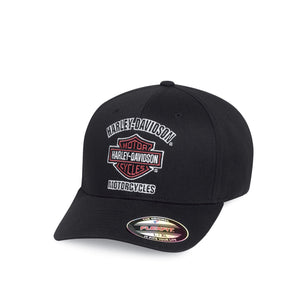 Harley-Davidson® Mens Traditional Logo Stretch Cap - 99408-16Vm Accessories