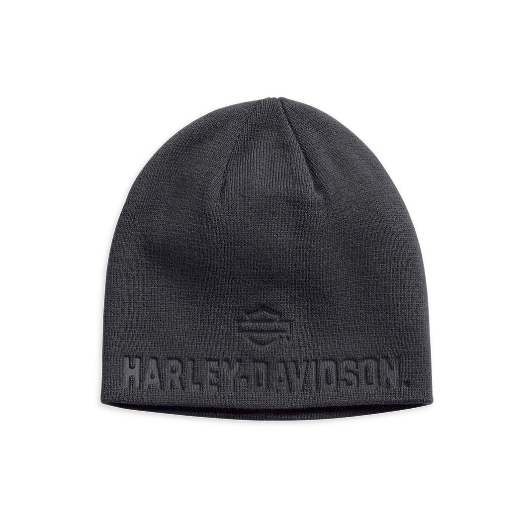 Harley-Davidson® Mens Debossed Knit Hat - 99430-18Vm Accessories