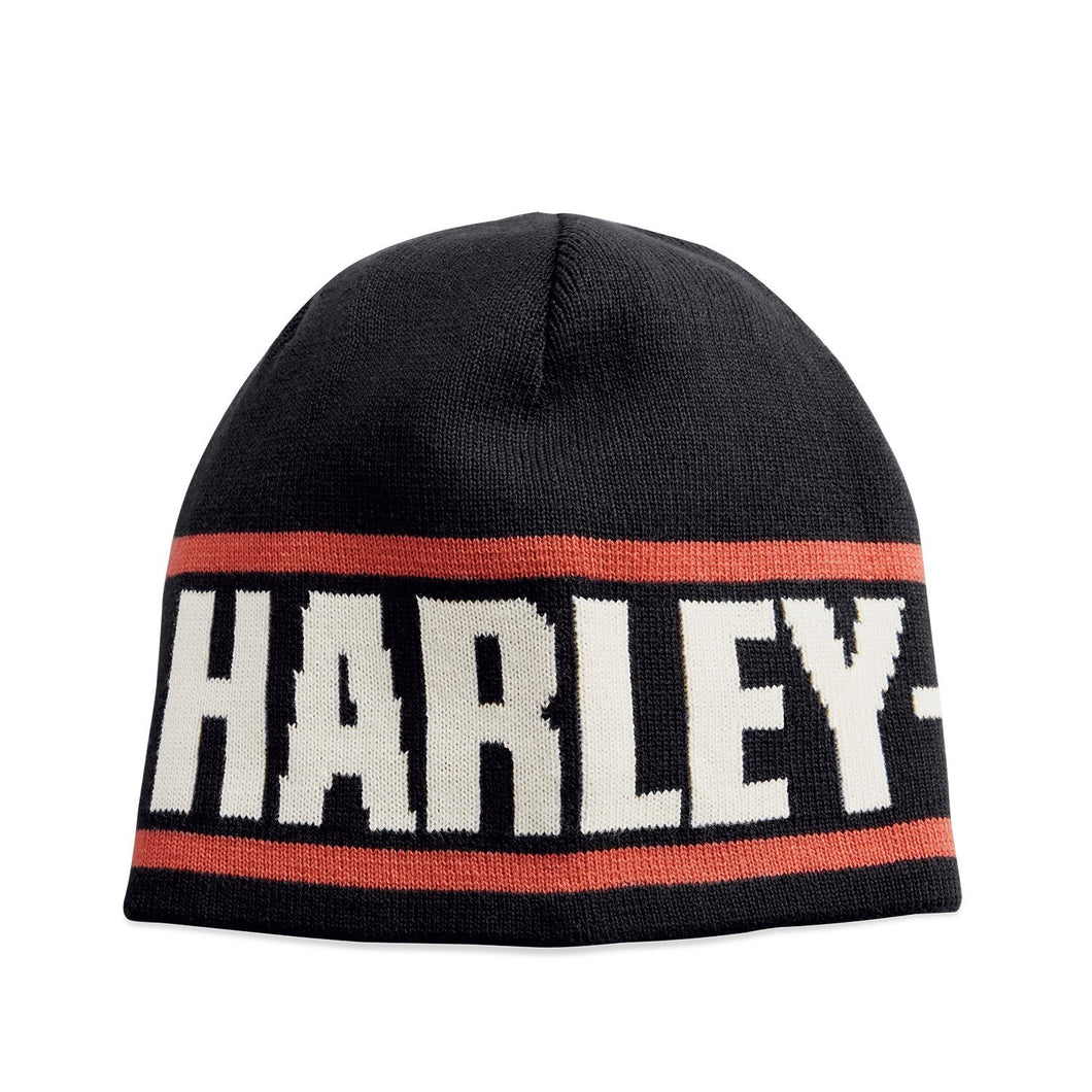 Harley-Davidson® Mens Reversible Knit Hat - 99431-18Vm Accessories