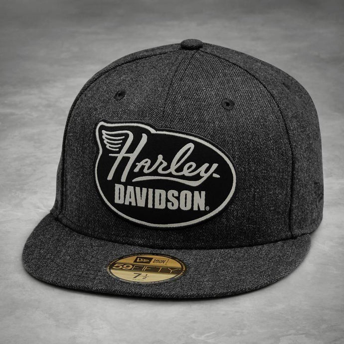 Harley-Davidson® Mens Winged Harley 59Fifty Cap - 99457-19Vm Caps