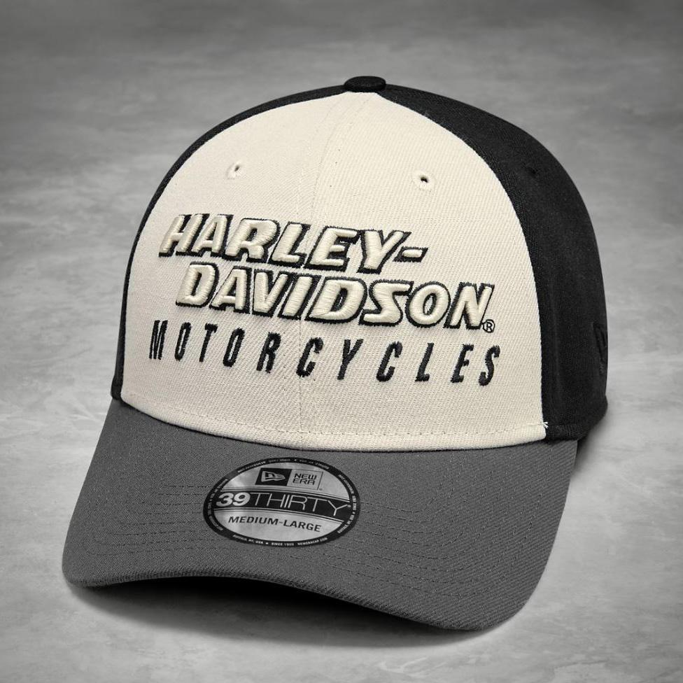Harley-Davidson® Mens Colorblock 39Thirty Cap - 99460-19Vm Caps