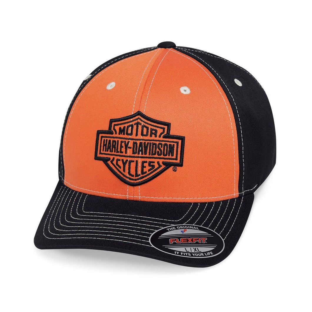 Harley-Davidson® Mens Colorblock Stretch Cap - 99469-19Vm Caps