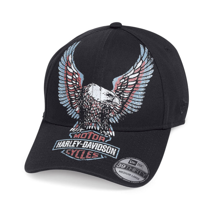 Harley-Davidson® Mens Printed Upright Eagle 39Thirtycap - 99473-19Vm Caps