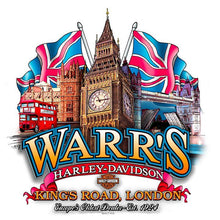 Warr's H-D® Men's Fragment and Big Ben London Tee