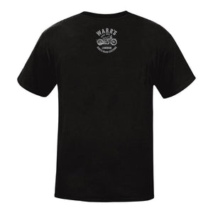 Warrs H-D® Mens Kings Road Customs T-Shirt - Black T-Shirts