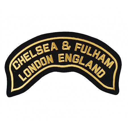 H.o.g.® Chelsea And Fulham Chapter Rocker Patch Accessories