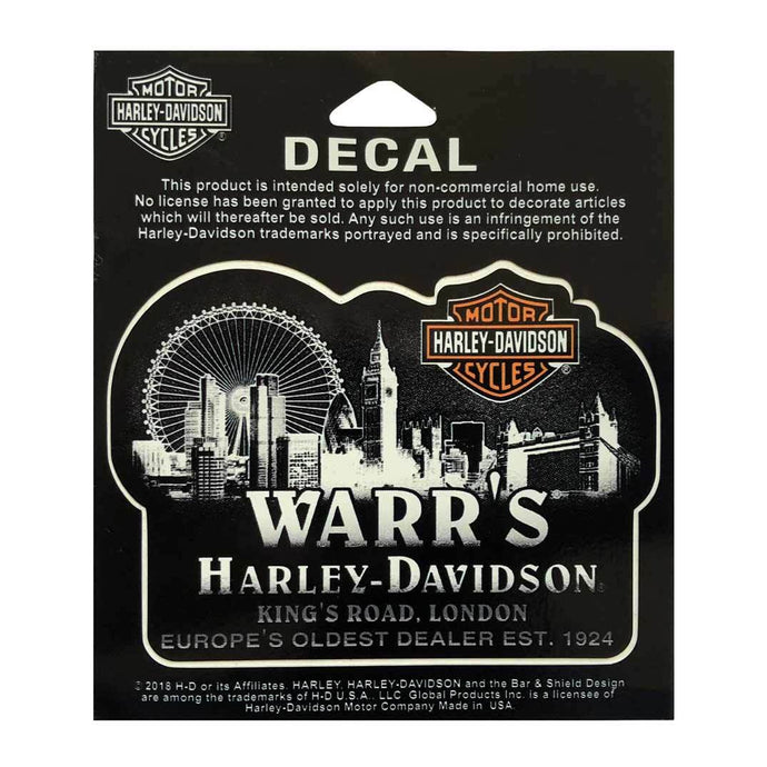 Warrs Harley-Davidson Metropolis At Night Decal Accessories