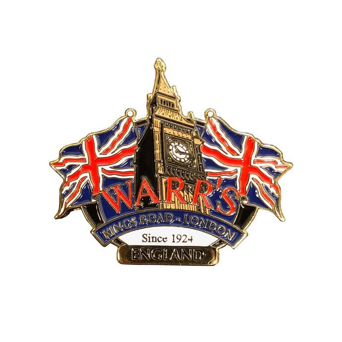 Warrs H-D® Kings Road London Big Ben Pin Accessories
