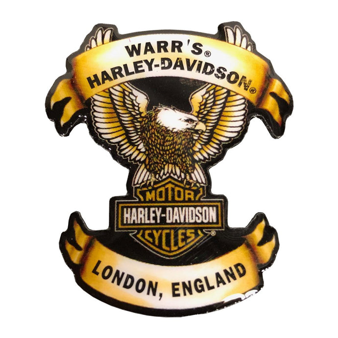 Warrs H-D® London Eagle Pin Accessories