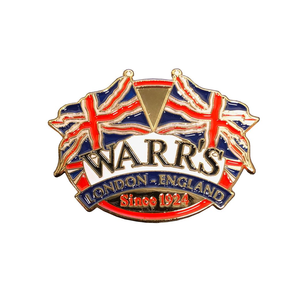 Warrs H-D® Kings Road Union Jack Pin Accessories