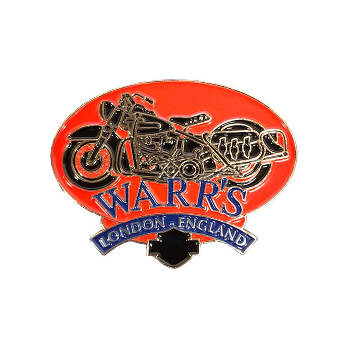 Warrs H-D® Classic London Red Bike Pin Accessories