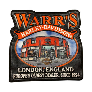 Warrs H-D® Kings Road Shop Front Patch Accessories