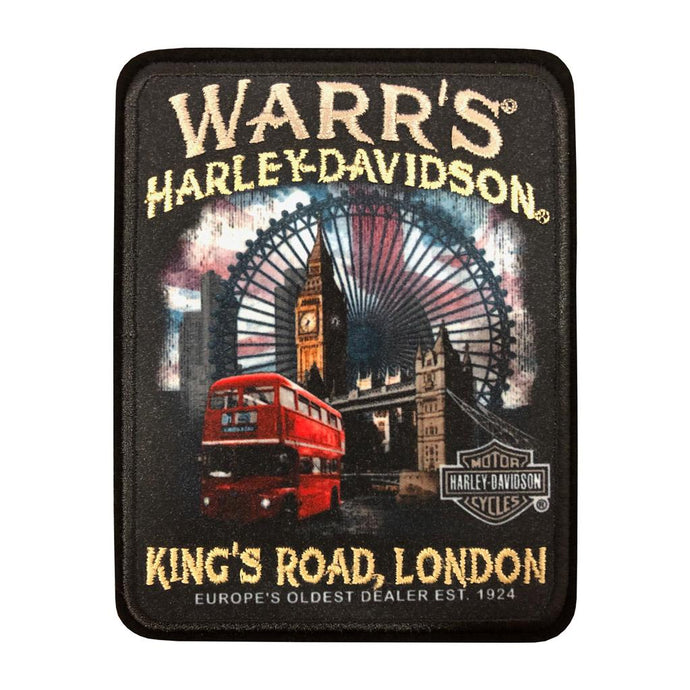 Warrs H-D® Kings Road London Wheel Patch Accessories