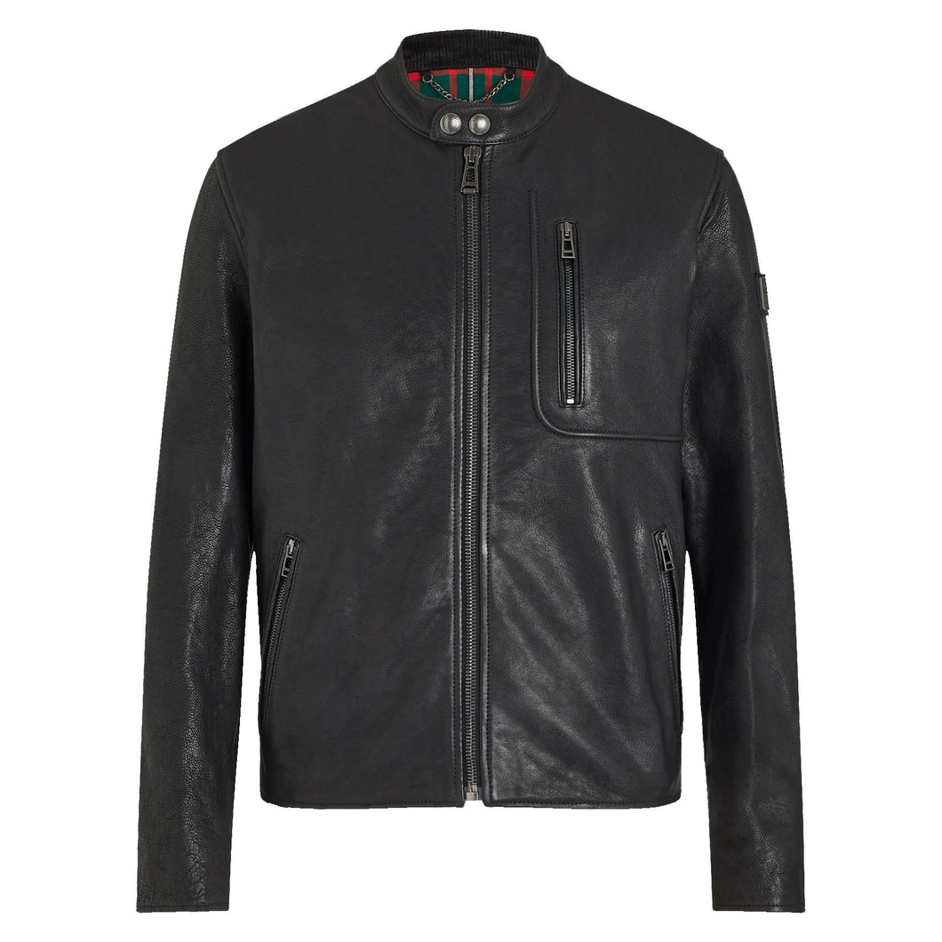 LWU Montana Leather Jacket Black