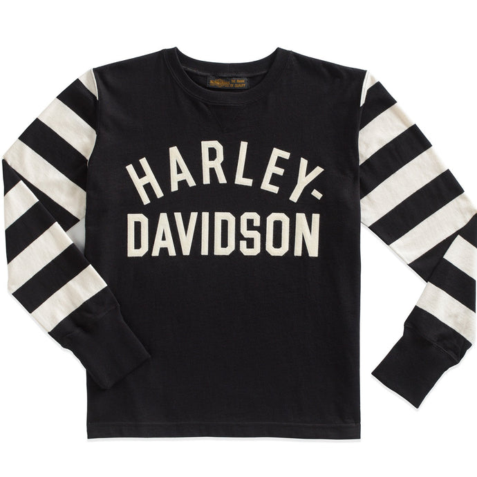 Harley-Davidson® Museum Men's Jersey Striped Sleeve