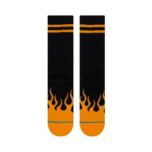 Stance Flames Black Socks