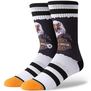 Stance Bald Eagle Crew Height Riding Socks