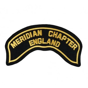H.o.g.® Meridian Chapter Rocker Patch Accessories