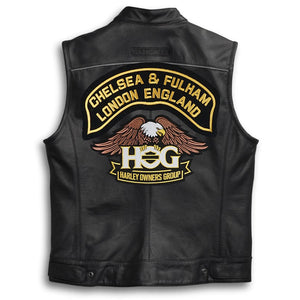 H.O.G.® Chelsea & Fulham Chapter Rocker Patch