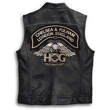 *New* H.O.G.® Chelsea & Fulham Chapter Eagle Patch - Silver