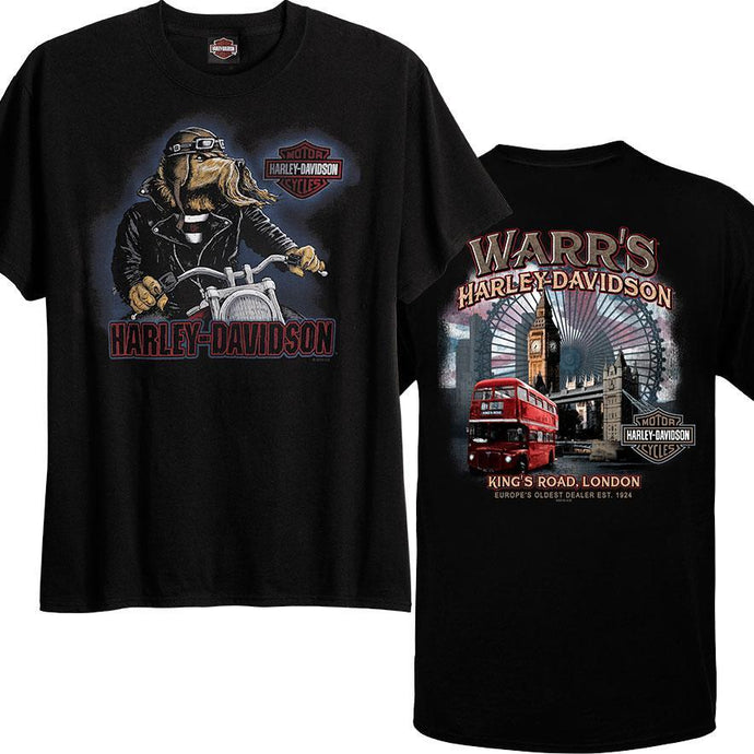 Warr's H-D® Men's Woof Rider and London Destination Tee