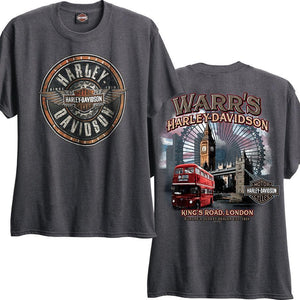 Warr's H-D® Men's Round Tin and London Destination Tee