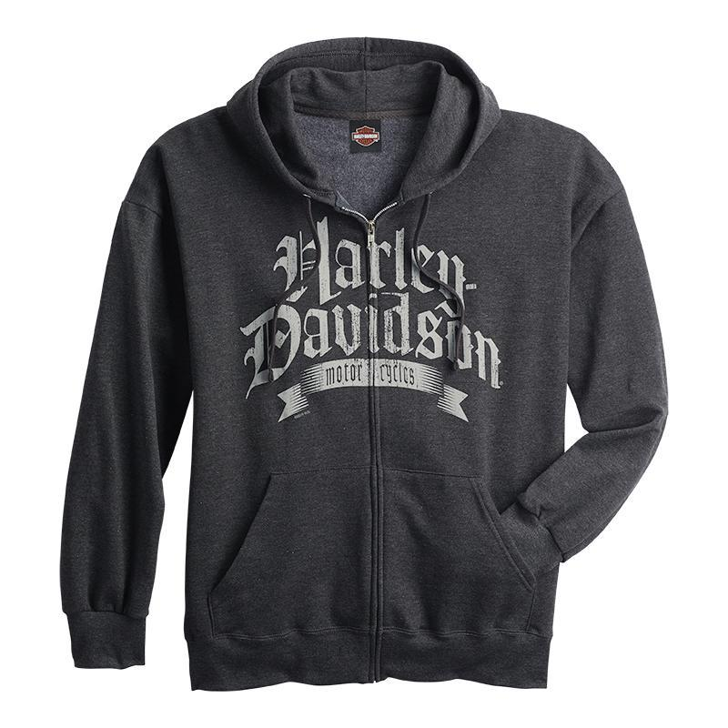 Warr's H-D® Men's Old Text and Speed Shop Hoodie