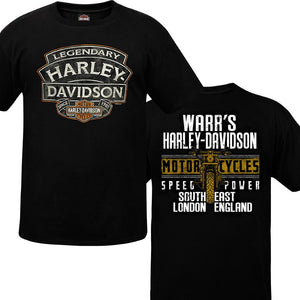 Warr's H-D® Men's Name Rock and South East London Tee