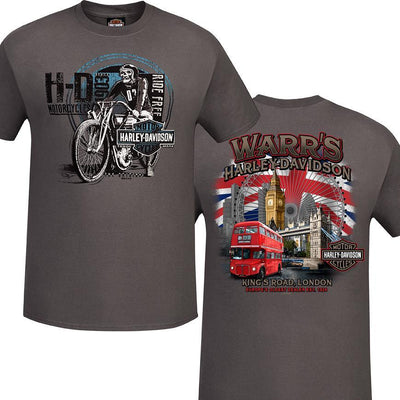 Warr's H-D® Men's Scratch Rider and London Destination Tee
