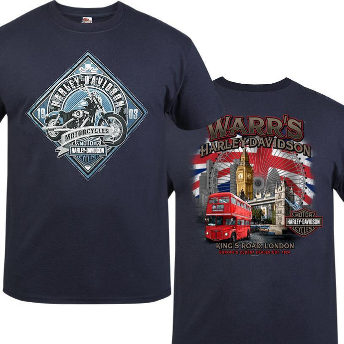 Warr's H-D® Men's MC Sign and London Destination Tee
