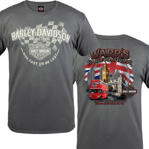 Warr's H-D® Men's Fast Last and London Destination Tee