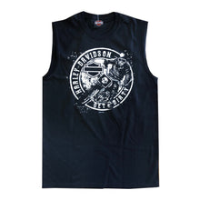Warr's H-D® Mens Black Dirt Speed Rider and London Big Ben Tank Top
