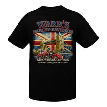 Warr's H-D® Men's Tower Bridge London Back T-Shirt