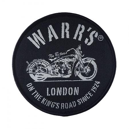 Warrs Kings Road Customs Patch Accessories