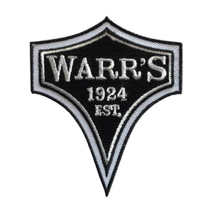 Warrs H-D® Kings Road Customs Diamond Patch Black Accessories