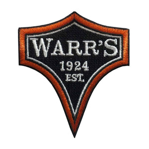 Warrs H-D® Kings Road Customs Diamond Patch Orange Accessories