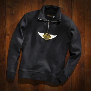 Harley-Davidson® Museum Men's Winged Patch Sweater