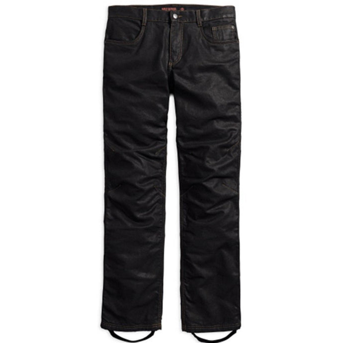 Harley-Davidson® Mens Waxed Denim Performance Riding Jeans - 98167-17Em Trousers