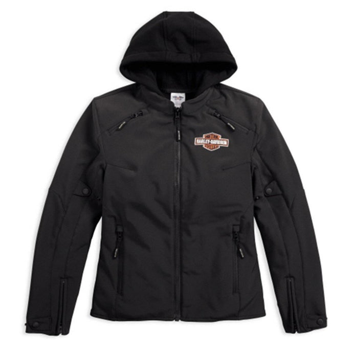 Harley-Davidson® Womens Legend 3-In-1 Soft Shell Riding Jacket - 98170-17Ew Jackets