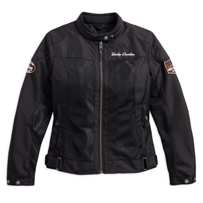 Harley-Davidson® Womens Bar & Shield® Logo Mesh Riding Jacket - 98169-17Ew Jackets
