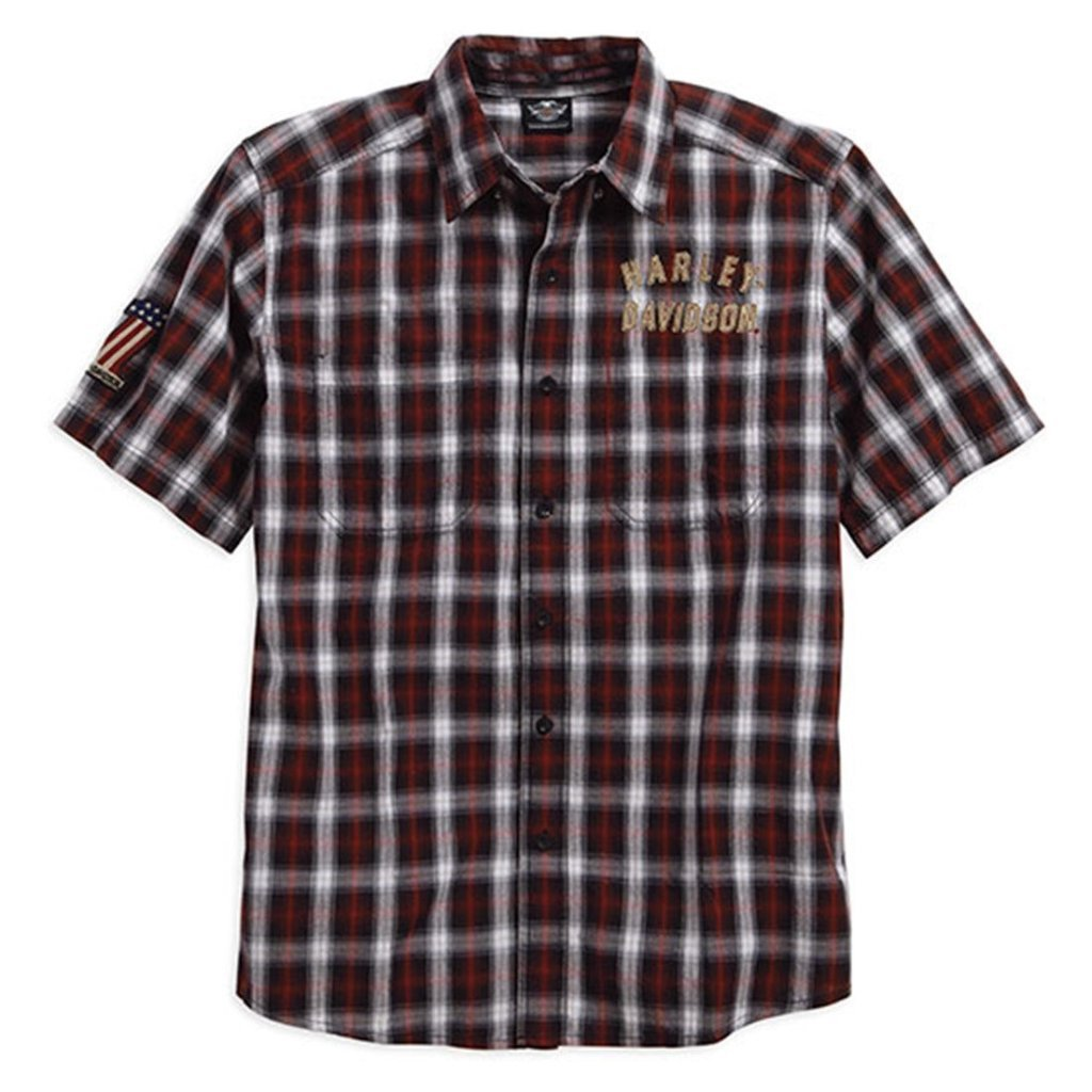 Harley-Davidson® Mens Genuine Classics #1 Plaid Shirt - 99011-16Vm Shirts