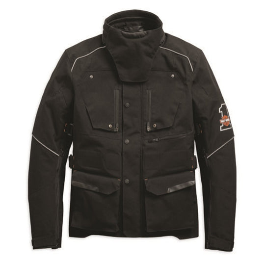 Harley-Davidson® Mens Baraboo Textile Riding Jacket - 98285-19Em Jackets