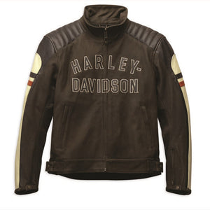 Harley-Davidson® Mens Rayland Leather Jacket - 98042-19Em Riding Jackets
