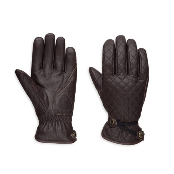 Harley-Davidson® Womens Messenger Leather Gloves - 98368-17Ew