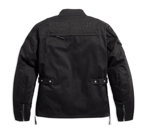 Harley-Davidson® Mens Messenger 3/4 Textile Riding Jacket - 98161-17Em Jackets